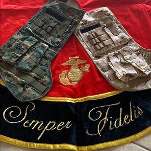 Semper Fidelis Tree Skirt